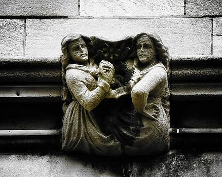 Sisters With a Cause Gargoyle V.2 by Joseph Duba