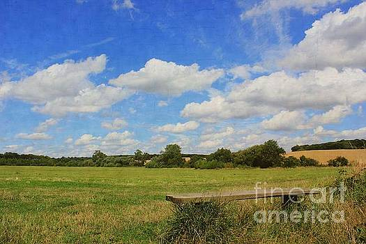 Sit and Enjoy The Countryside by Vicki Spindler