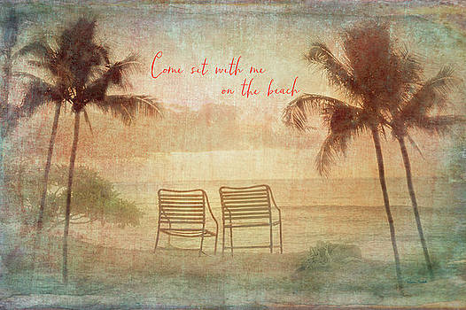 Sit With Me On The Beach by Ramona Murdock