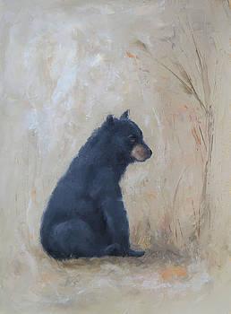 Sitting Bear by Monica Burnette