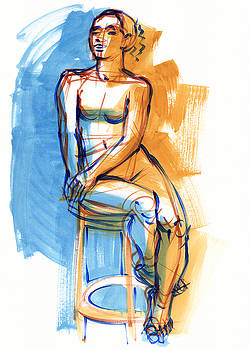Judith Kunzle - Sitting High