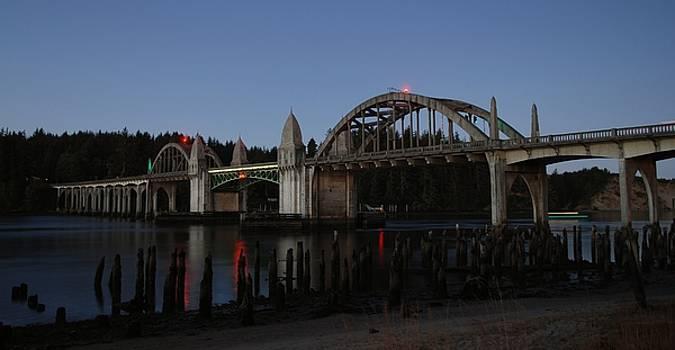 Siuslaw Bridge by Lawrence Pratt