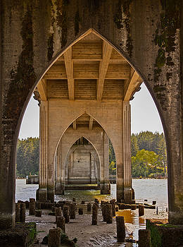 Siuslaw River Bridge by Robert Brusca