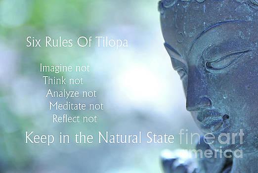 Six Rules Of Tilopa by Agnieszka Ledwon