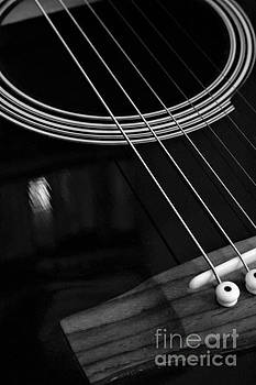 Six String - Black and White by Dee Winslow