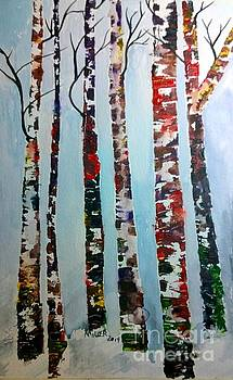 Six Tall Trees by Eunice Miller