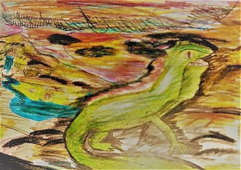 Sixth Grade Iguana by Andrew Blitman