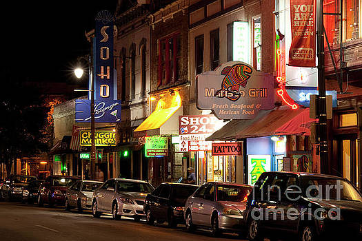 Herronstock Prints - Sixth Street is the one stop resource for live music, clubs, eve