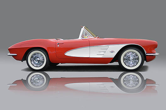 Sixty-One Corvette by Bill Dutting