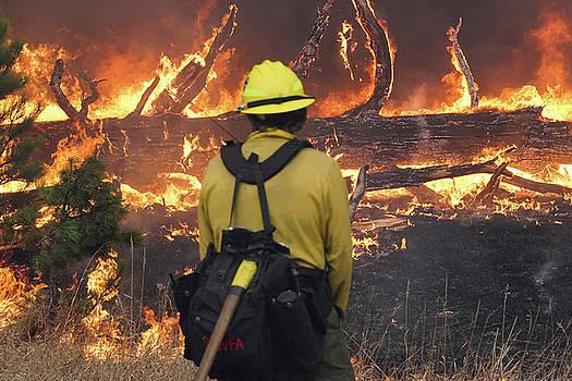 Legion Lake Fire by Bill Gabbert
