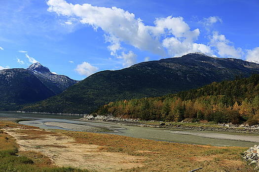 Skagway River in Autumn by Kimberly VanNostrand