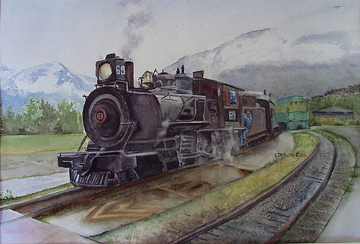 Skagway's White Pass Dream by Katherine  Berlin