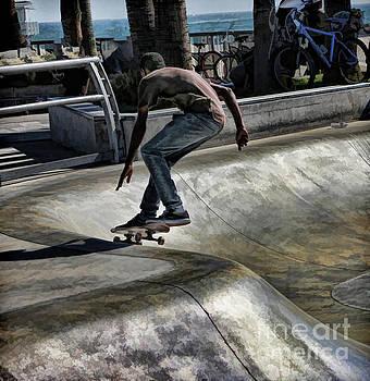 Chuck Kuhn - Skate Board I