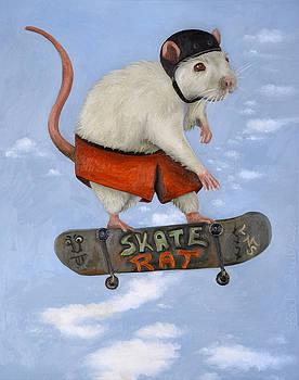 Leah Saulnier The Painting Maniac - Skate Rat