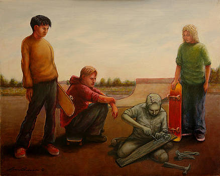 Skateboard Origins by Lance Anderson