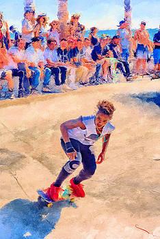Skateboarding by SM Shahrokni