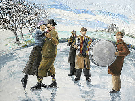 Skater's Waltz by Paula Blasius McHugh