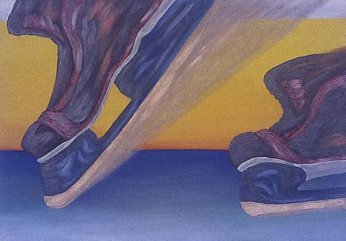 Skates by Ken Yackel