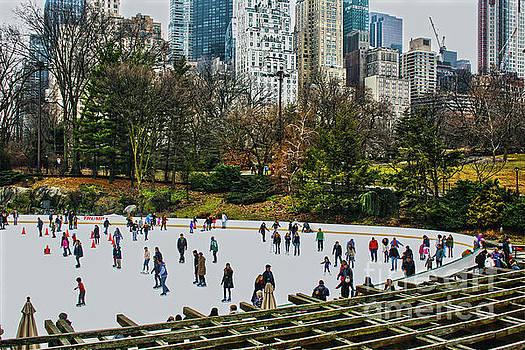 Sandy Moulder - Skating at Central Park