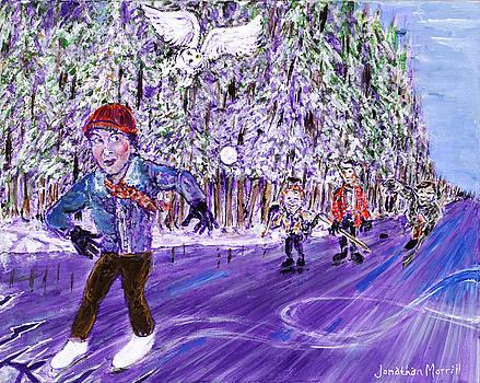 Skating On Thin Ice by Jonathan Morrill