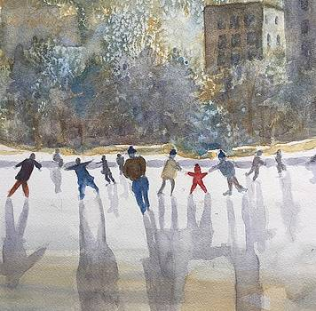Skating  by Peggy Poppe