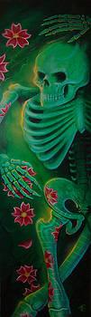 Skeleton Charm by Joshua South