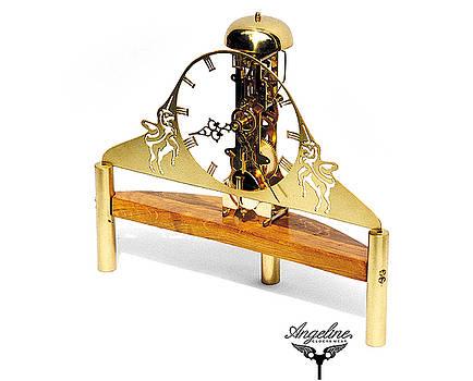 Skeleton clock Deva by Matej Zorec
