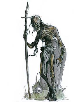Skeleton Warrior by Bartek Blaszczec