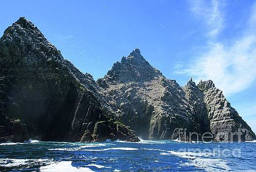 Skellig Islands 2 by Crystal Rosene