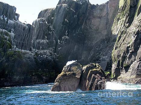 Skellig Islands 3 by Crystal Rosene
