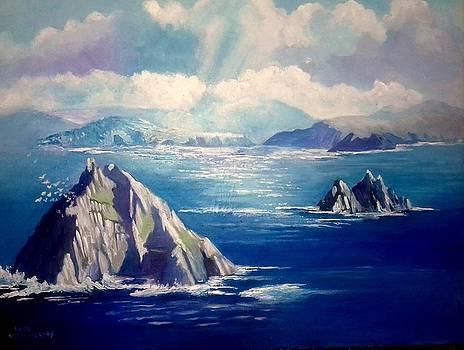 Skelligs Ireland by Paul Weerasekera