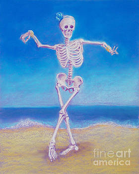Skelly Dancer Number One by Marie Marfia