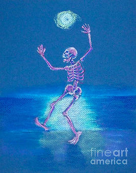 Skelly Dancer Number Six by Marie Marfia