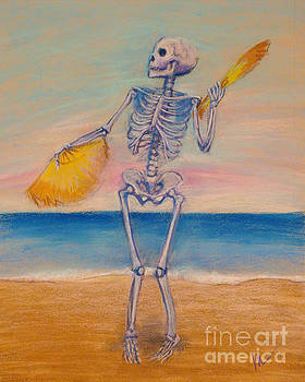 Skelly Dancer Number Ten by Marie Marfia