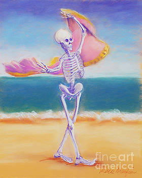 Skelly Dancer Number Three by Marie Marfia