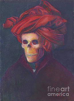Skelly in a Red Turban by Marie Marfia