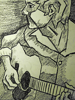 Kamil Swiatek - Sketch - Guitar Man