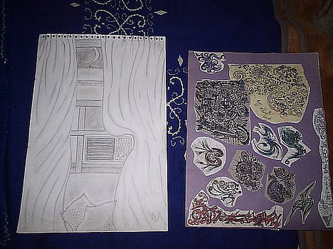 Sketch by Aleena Saeed