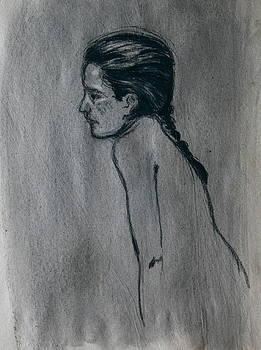 Sketch of a model by Dan Koon
