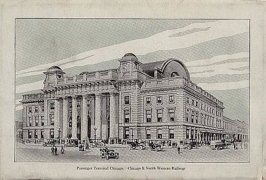 Chicago and North Western Historical Society - Sketch of Chicago Passenger Terminal