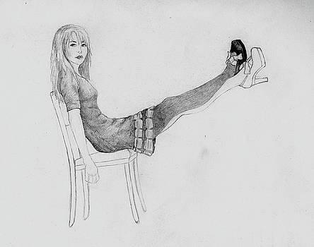 Sketch of Dress by Haley Davis