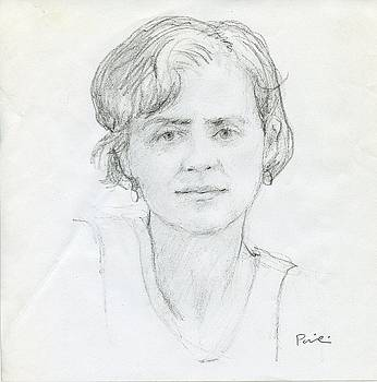 Sketch of Lauri by Charles Pompilius