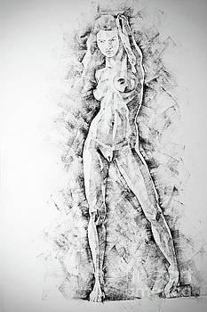 Dimitar Hristov - SketchBook Page 47 Straight Human Figure Drawing
