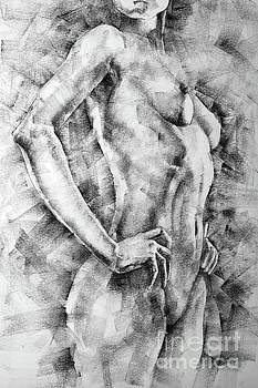 Dimitar Hristov - SketchBook Page 58 Woman With Hands On The Waist