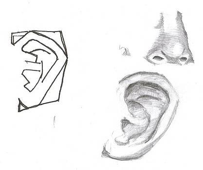 Sketches of Mitchell by Joseph Bradley