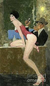 Sketchy Characters Private Eye Services Inc. by Robert McGinnis