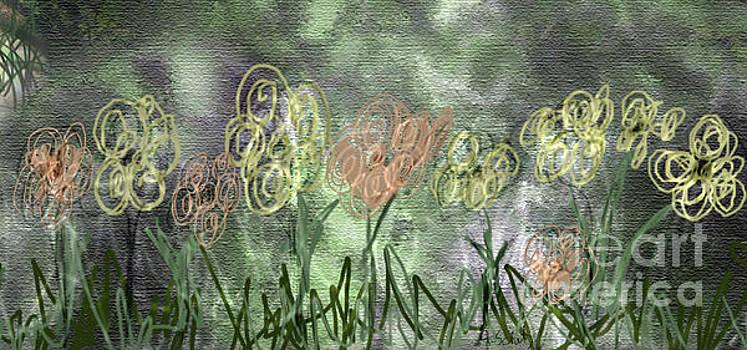Sketchy Flowerrs by Gabrielle Schertz