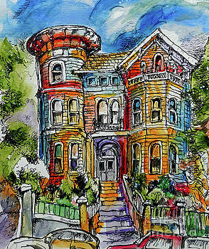 Sketchy Victorian by Terry Banderas