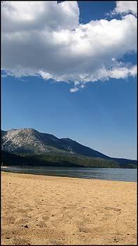 Ski Beach South Lake Tahoe CA by Brad Scott