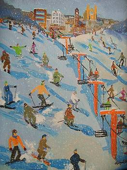 Ski Hill by Rodger Ellingson